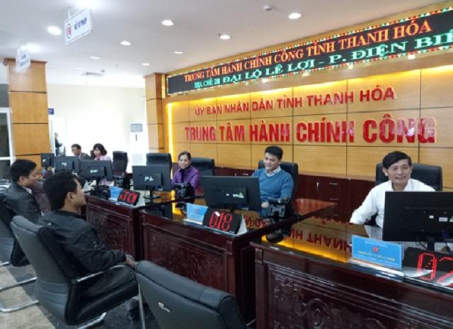 Trung tâm Phục vụ hành chính công tỉnh Thanh Hóa