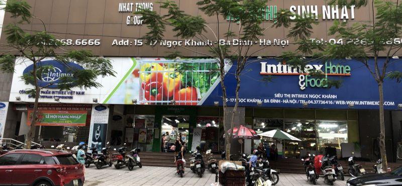 Siêu thị Intimex Ngọc Khánh trước khi chuyển đổi thương hiệu