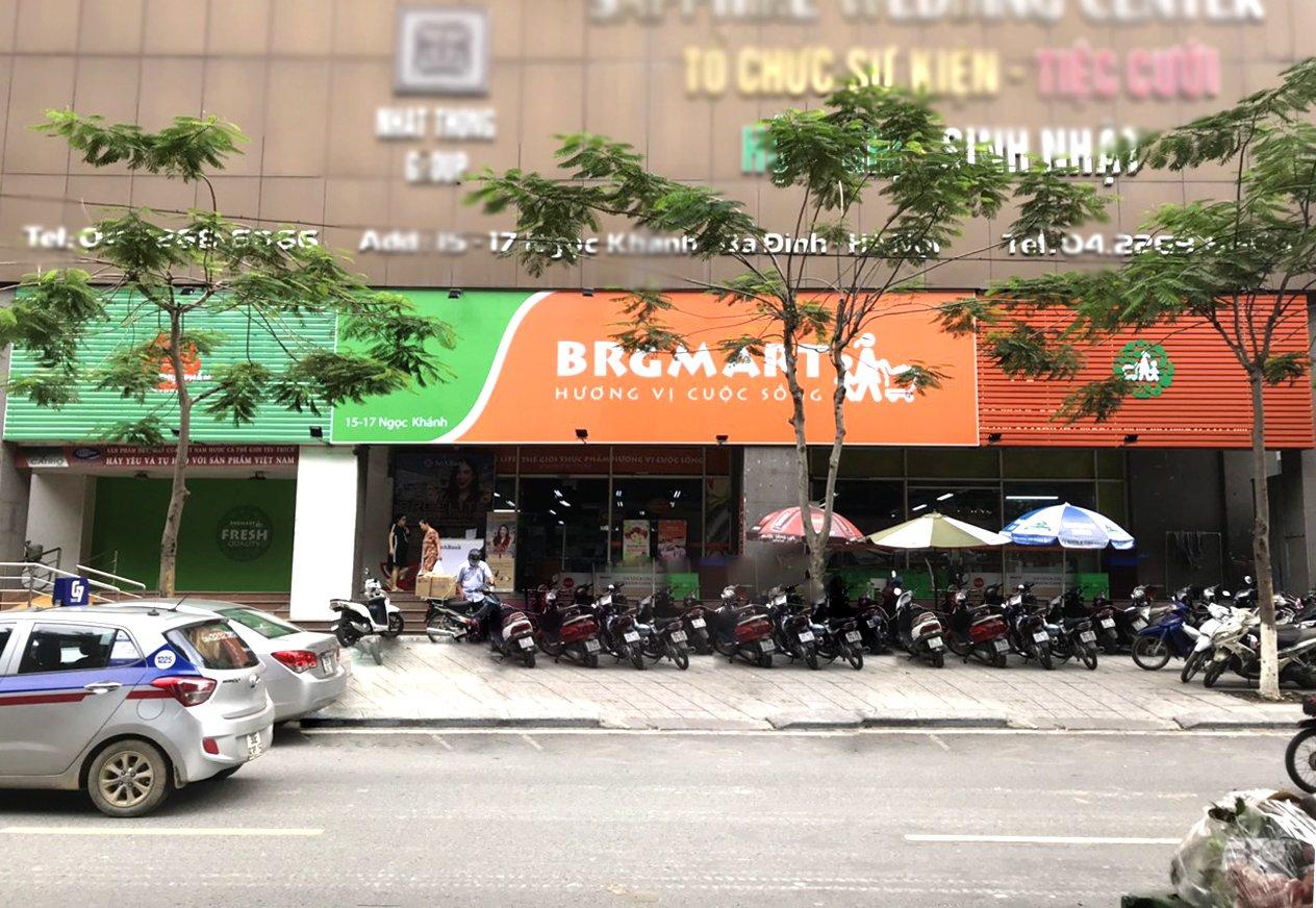 Siêu thị Intimex Ngọc Khánh sau khi chuyển đổi thương hiệu BRGMart