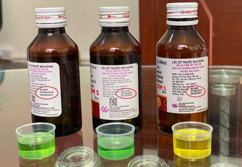 Đại diện công ty CP hóa dược Việt Nam đơn vị phân phối sản phẩm cho rằng sản phẩm đang có nhiều dấu hiệu bị làm giả