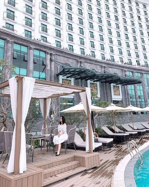 FLC Grand Hotel Ha Long là một trong những khách sạn có view vịnh đẹp nhất Hạ Long (Ảnh:h.anie98))