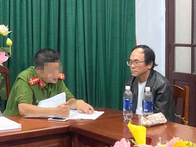 Nguyễn Văn Hoàng (56 tuổi, trú quận Cẩm Lệ) là đại lý lớn nhất có tài khoản 1 triệu USD (ảnh CA ĐN)