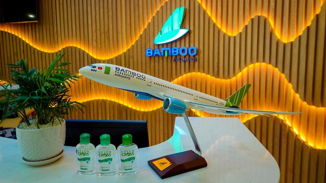 Bamboo Airways là hãng hàng không tư nhân Việt Nam đầu tiên khai thác phòng chờ hạng thương gia.