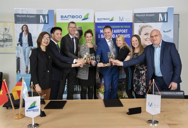 Bamboo Airways và Munich kỳ vọng hai đường bay thẳng Hà Nội – Munich và TP HCM – Munich sớm đi vào vận hành