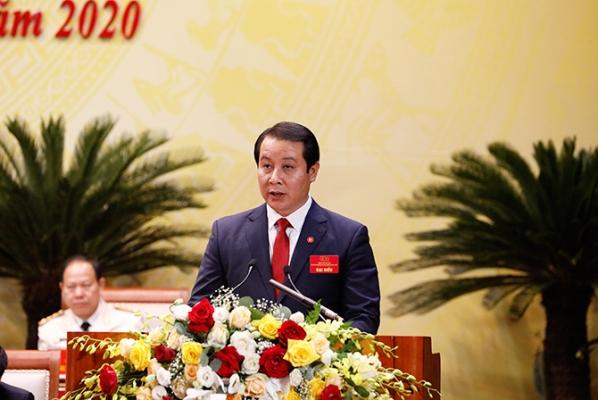 Đồng chí Phạm Hoàng Anh - tân Phó Bí thư Tỉnh uỷ Vĩnh Phúc.