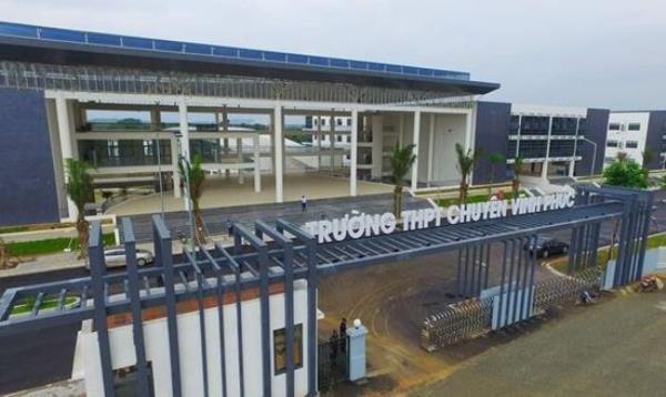 Trường THPT Chuyên Vĩnh Phúc đầu tư xây dựng khang trang hiện đại