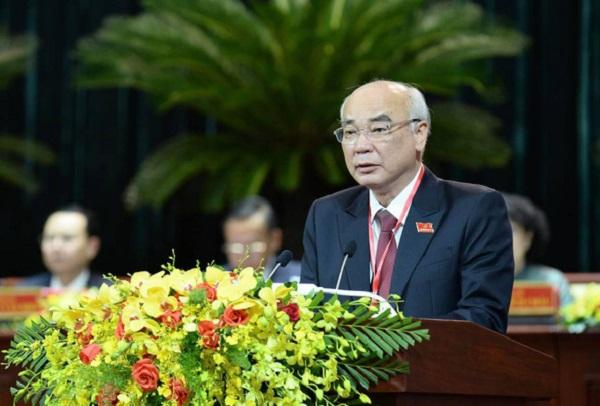 Ông Phan Nguyễn Như Khuê - trưởng Ban tuyên giáo Thành ủy TP.HCM