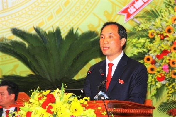 Ông Hoàng Trung Dũng được bầu làm Bí thư Tỉnh ủy khóa mới, với tỷ lệ phiếu bầu đạt 100%
