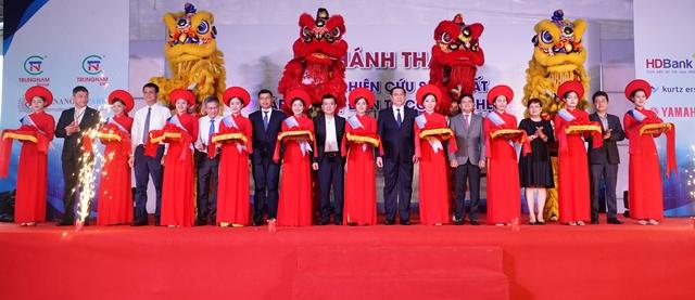 Khánh thành nhà máy nghiên cứu, sản xuất, lắp ráp thiết bị điện tử công nghệ cao SMT tại Khu Công nghệ cao Đà Nẵng.