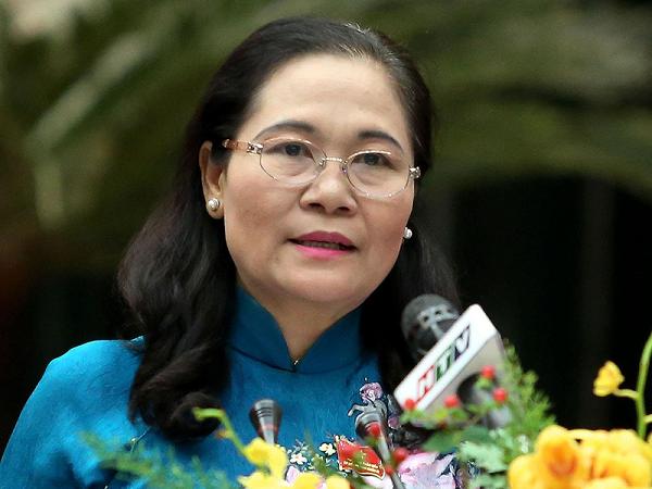 Bà Nguyễn Thị Lệ, Phó Bí thư Thành ủy, Chủ tịch HĐND TP.HCM.