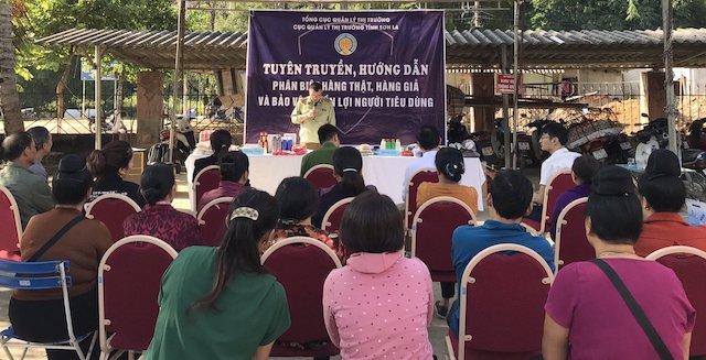 Đồng chí Nguyễn Hải Hà - Phó Cục trưởng phát biểu khai mạc