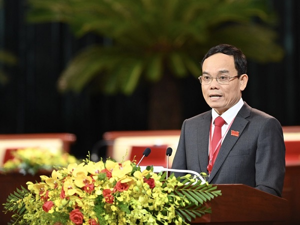 Ông Trần Lưu Quang, Phó Bí thư Thường trực Thành ủy TP.HCM.