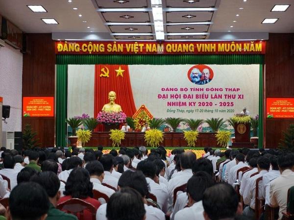 Đại hội đại biểu Đảng bộ tỉnh Đồng Tháp lần thứ XI, nhiệm kỳ 2020 - 2025