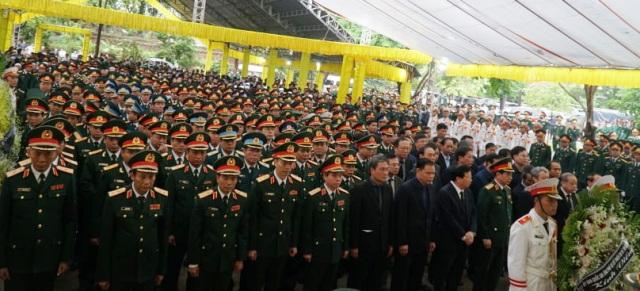 Lễ truy điệu các liệt sĩ