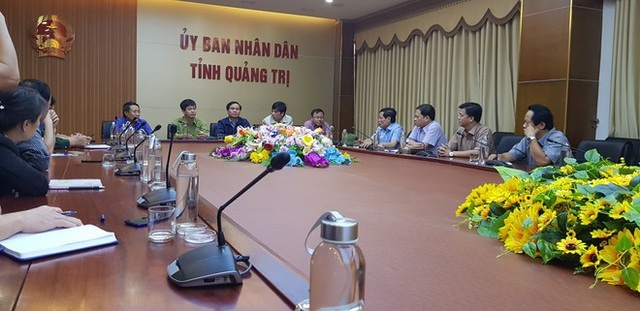 UBND tỉnh Quảng Trị họp khẩn cấp trong đêm