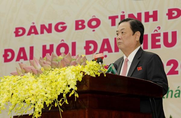 Ông Lê Minh Hoan phát biểu khai mạc đại hội.