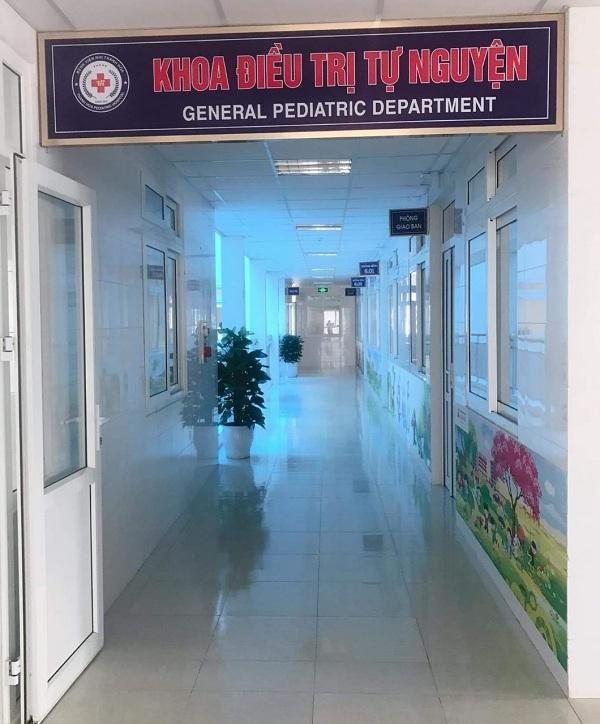 Khoa điều trị tự nguyện – Bệnh viện nhi Thanh Hóa được chính thức đưa vào hoạt động từ ngày 11/08/2020 tại tầng 5, 6 khu nhà D Bệnh viện Nhi Thanh Hóa.
