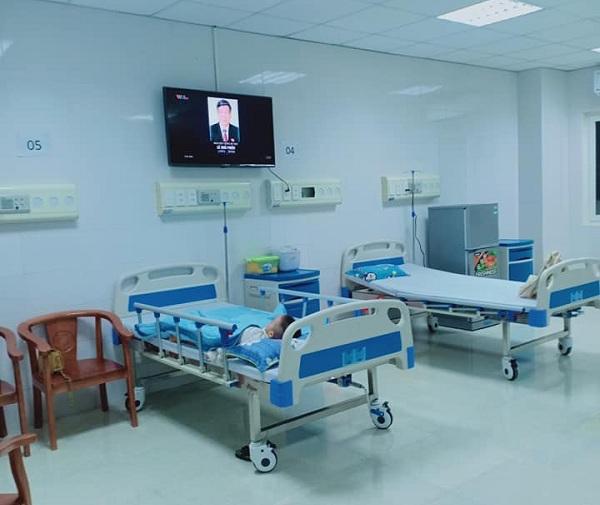 Phòng bệnh với cơ sở vật chất hiện đại
