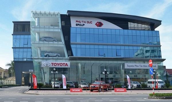 Toyota Việt Nam tạm dừng hoạt động hai đại lý tại miền Trung