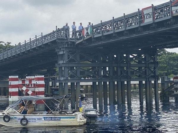 Cầu sắt An Phú Đông khó có thể hoàn thành đúng tiến độ trong tháng 10 này.