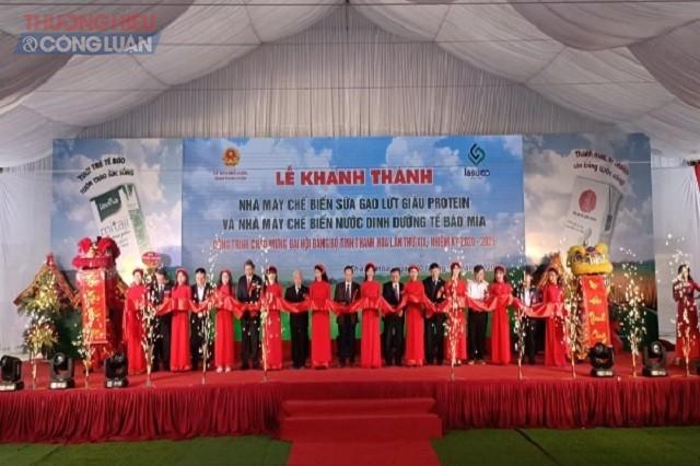 Lễ cắt băng khánh thành và đi vào hoạt động công trình chào mừng Đại hội Đảng bộ tỉnh Thanh Hóa