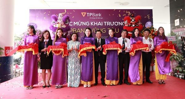 Chi nhánh TPBank đầu tiên tại tỉnh Bà Rịa - Vũng Tàu chính thức đi vào hoạt động