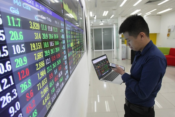 Thị trường chứng khoán Việt Nam có sự hồi phục tích cực sau đại dịch Covid-19. (Ảnh minh họa/KT).