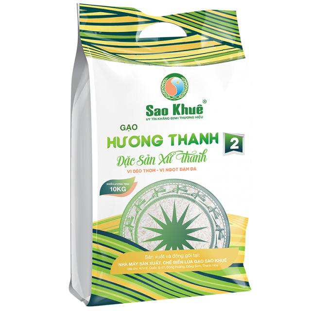 Gạo Hương Thanh  2 của Công ty CP Thương mại Sao Khuê (Đông Sơn)