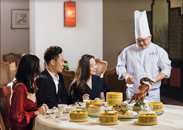 Trải nghiệm ẩm thực Trung Hoa thượng lưu trong không gian sang trọng, tinh tế