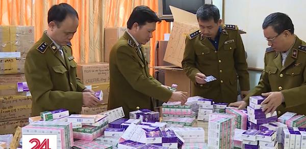 Lực lượng QLTT Hà Nội bắt giữ lô hàng thuốc tân dược lậu