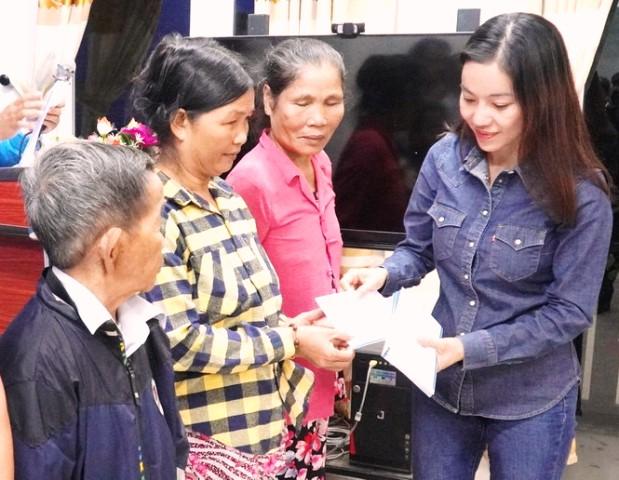 Bà Phạm Thị Kim Dung, Tổng Giám đốc Công ty TNHH Quảng cáo và Thương mại Sen Vàng, Phó trưởng Ban Tổ chức Hoa hậu Việt Nam 2020.