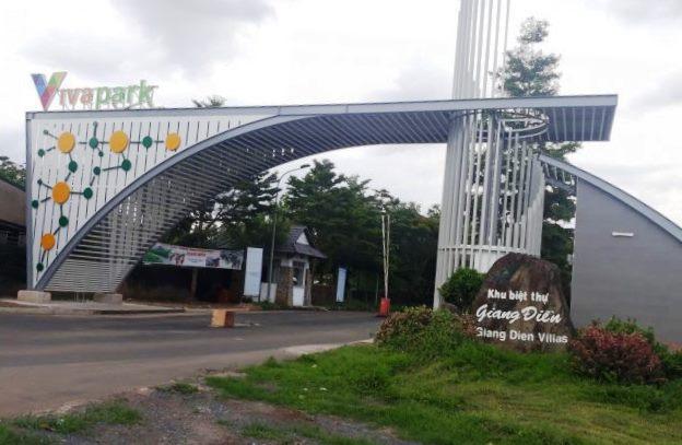 LDG Group đã  xây dựng trái phép  680 căn nhà tại dự án Khu dân cư Tân Thịnh (tên thương mại là Viva Park, tại xã Đồi 61, huyện Trảng Bom, tỉnh Đồng Nai)