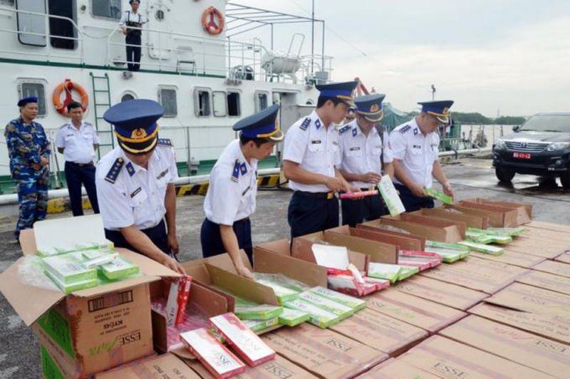 Lực lượng Cảnh sát biển tăng cường tuần tra, kiểm soát trên vùng biển trọng điểm để ngăn chặn và xử lý kịp thời các hành vi buôn lậu, gian lận thương mại
