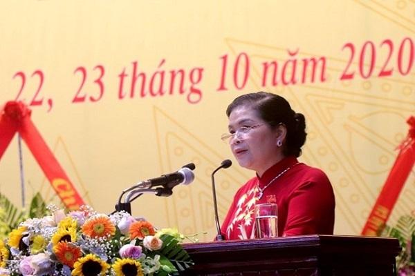 Bà Giàng Páo Mỷ tái đắc cử Bí thư Tỉnh ủy Lai Châu.