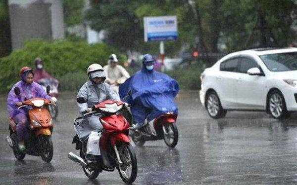 ác tỉnh miền Trung, Tây Nguyên và Nam Bộ đều được dự báo có mưa rào và giông vài nơi.