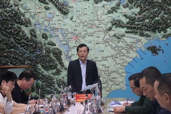 Ban Chỉ đạo Trung ương về Phòng chống thiên tai đã tổ chức họp ứng phó bão số 8.
