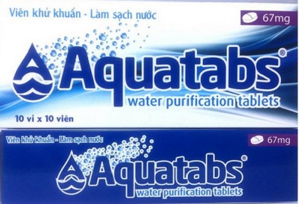 Thủ tướng cấp 6,7 triệu viên sát khuẩn nước Aquatabs 67mg cho các tỉnh vùng lũ