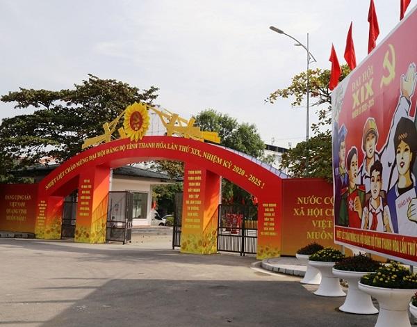 Trung tâm Hội nghị 25B của tỉnh cơ bản hoàn tất mọi công tác chuẩn bị, sẵn sàng các điều kiện để tổ chức thành công Đại hội.