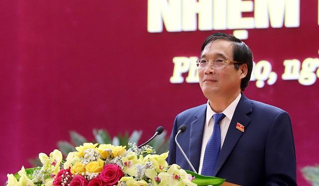 Bí thư Tỉnh ủy Phú Thọ Bùi Minh Châu