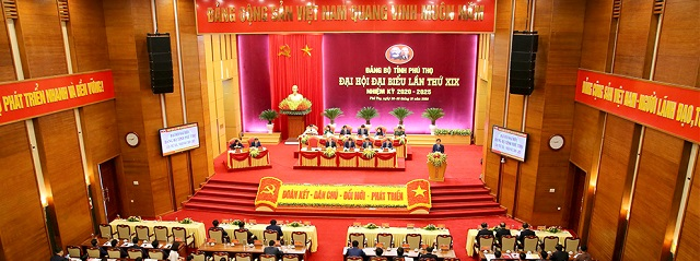 Quang cảnh phiên trù bị Đại hội Đại biểu Đảng bộ tỉnh lần thứ XIX, nhiệm kỳ 2020 - 2025