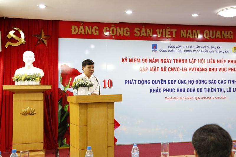 Đồng chí Phạm Việt Anh phát biểu tại buổi gặp mặt  (Ảnh: Hà Thanh, Trọng An)