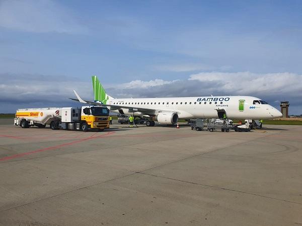 Bamboo Airways và Pacific Airlines cho biết trong hôm nay sẽ điều chỉnh nhiều chuyến bay do ảnh hưởng bão số 9