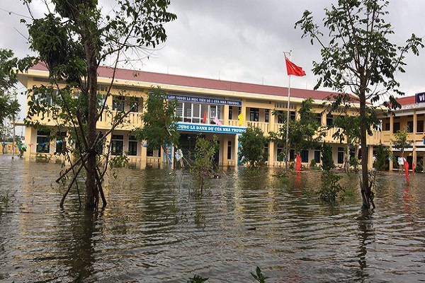 Nhiều tỉnh Tây Nguyên cho học sinh nghỉ để phòng chống bão số 9