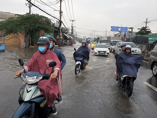 Biến đổi khí hậu là một trong những nguyên nhân gây ra ngập lụt.