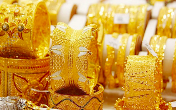 Vàng tăng nhẹ do đồng USD giảm