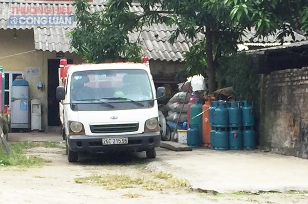 Nguy cơ cháy nổ tiềm ẩn từ những cơ sở sang chiết gas tại xã Bát Tràng