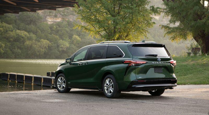 Toyota Sienna phiên bản mới được phát triển dựa trên nền tảng TNGA-K đa năng