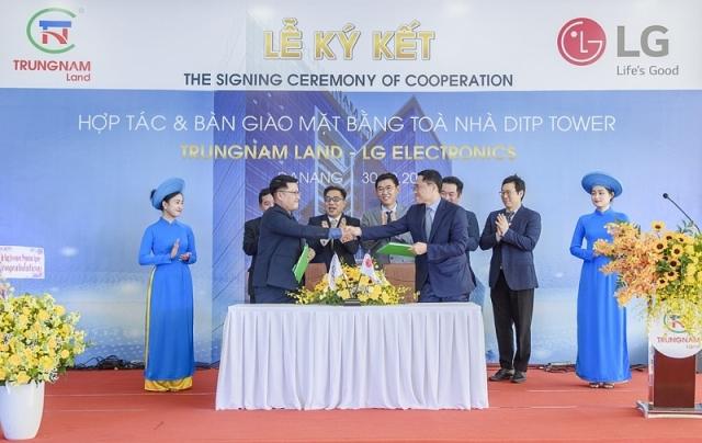 Trung Nam Land và LG Electronics ký kết hợp tác ngày 30/10