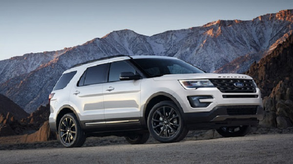 Ford Explorer 2017 nằm trong diện bị triệu hồi