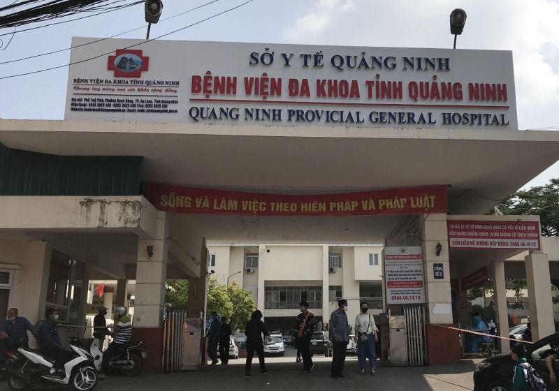 Thực hiện cách ly đối cán bộ y tế của Khoa Hồi sức cấp cứu, Bệnh viện Đa khoa tỉnh Quảng Ninh theo quy định của Bộ Y tế về phòng, chống dịch Covid-19.